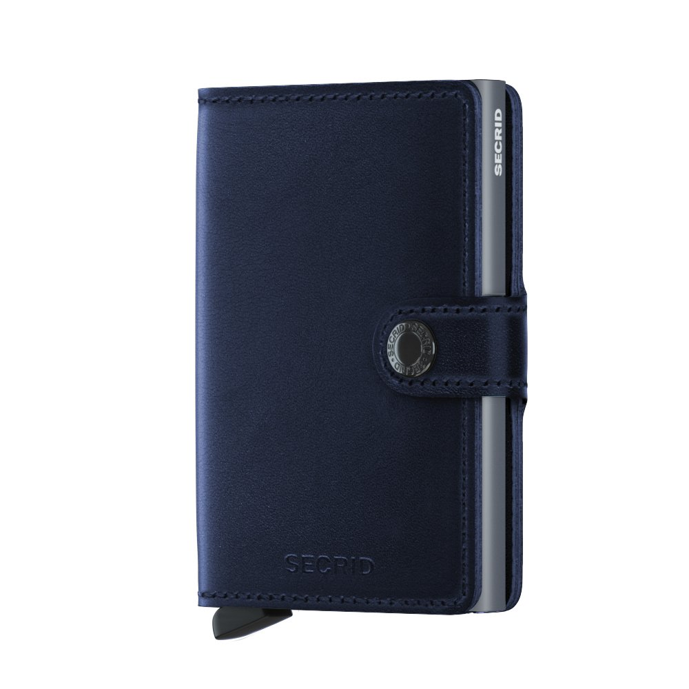 Secrid Miniwallet Polished Navy Front