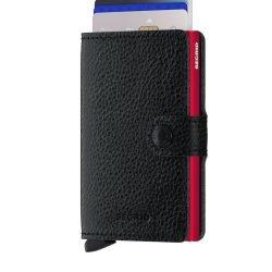 Secrid Miniwallet Veg Black-Red Front Cards