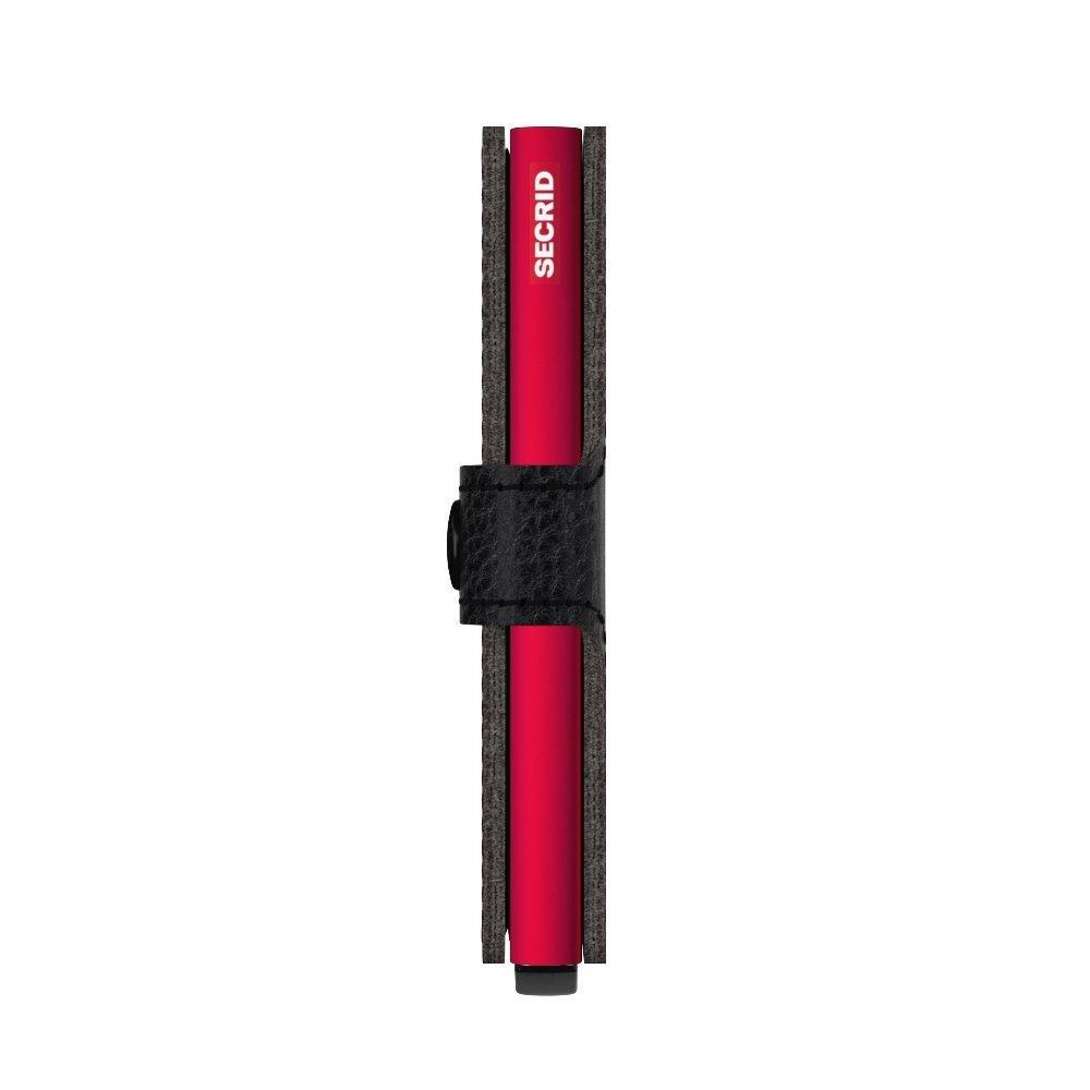 Secrid Miniwallet Veg Black-Red Side